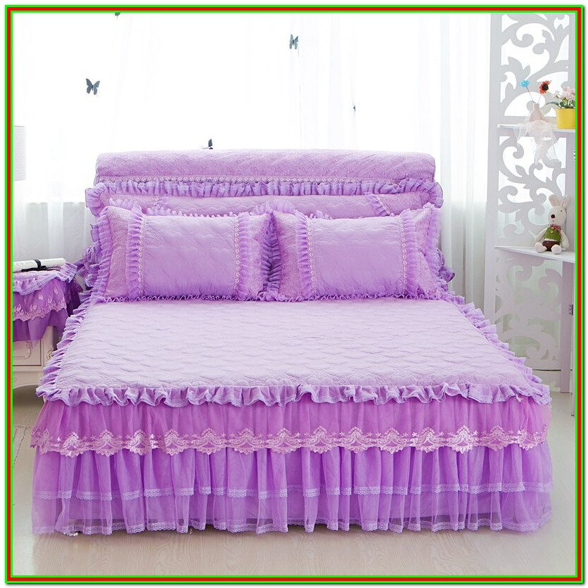 Pink Full Size Bed Skirt