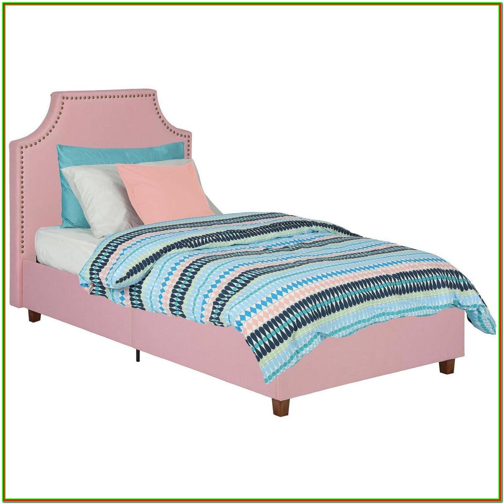 Pink Full Size Platform Bed