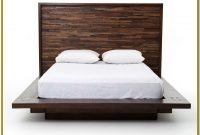 Platform Bed Frame Queen Real Wood