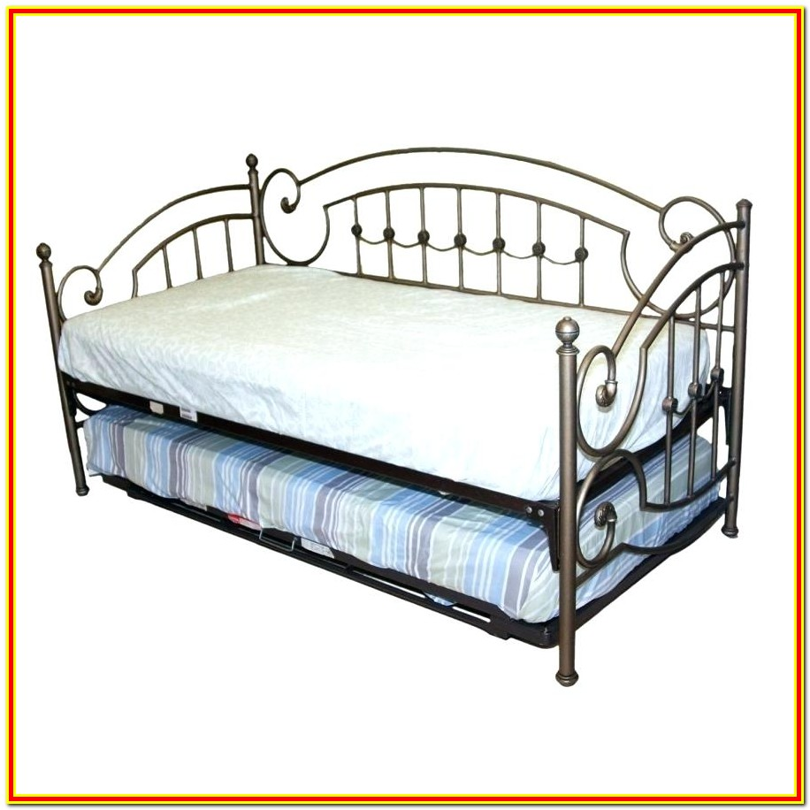 Pop Up Trundle Bed Frame Twin
