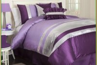 Purple And Green Twin Bedding