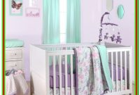 Purple And Mint Green Bedding
