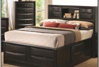 Queen Bed Frame With Headboard Shelf