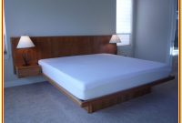Queen Bed With Attached Nightstands