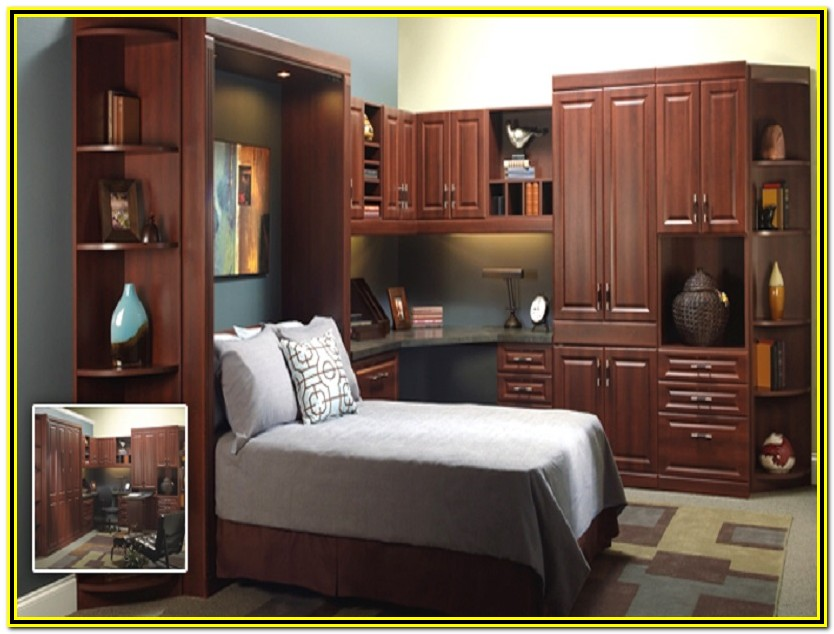 Queen Murphy Bed With Desk Plans