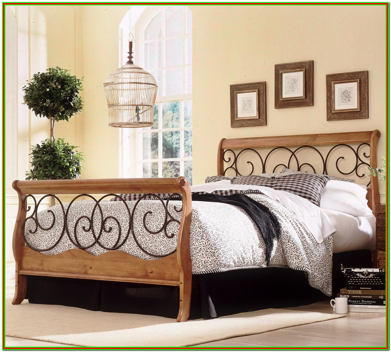 Queen Platform Bed With Headboard And Footboard