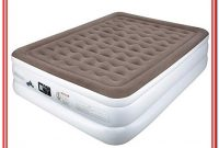 Queen Size Air Bed Mattress 22 Inches With Built In Electric Pump Raised New