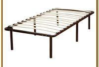 Queen Size Bed Frame With Wood Slat Platform