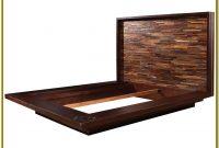 Queen Size Solid Wood Platform Bed Frame