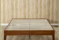Queen Size Wood Platform Bed Frame
