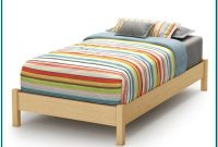 Solid Wood Bed Frame Twin