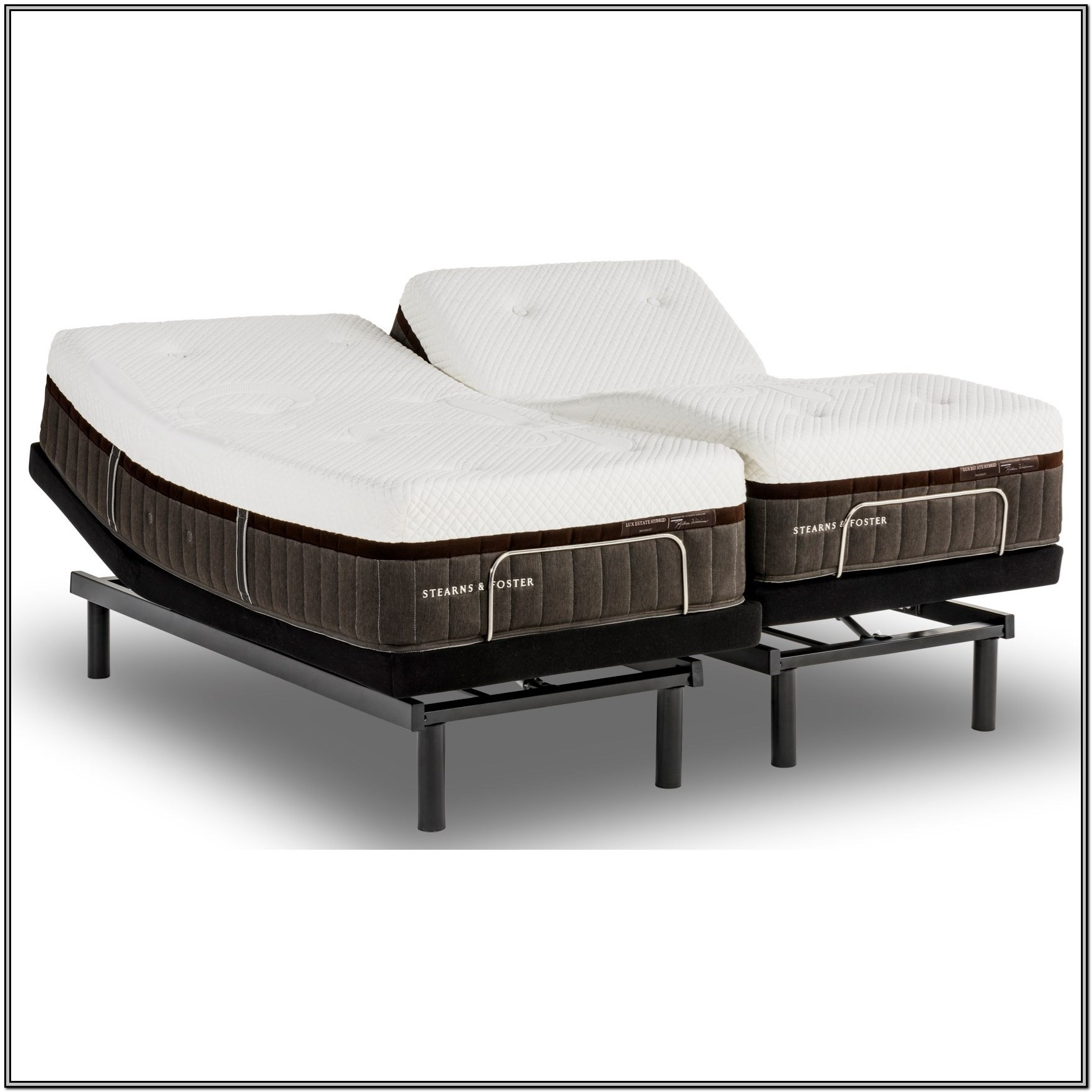 Stearns And Foster Adjustable King Bed