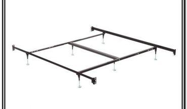 Sturdy Metal Bed Frame With Headboard Brackets