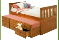 Trundle Bed With Drawers Plans