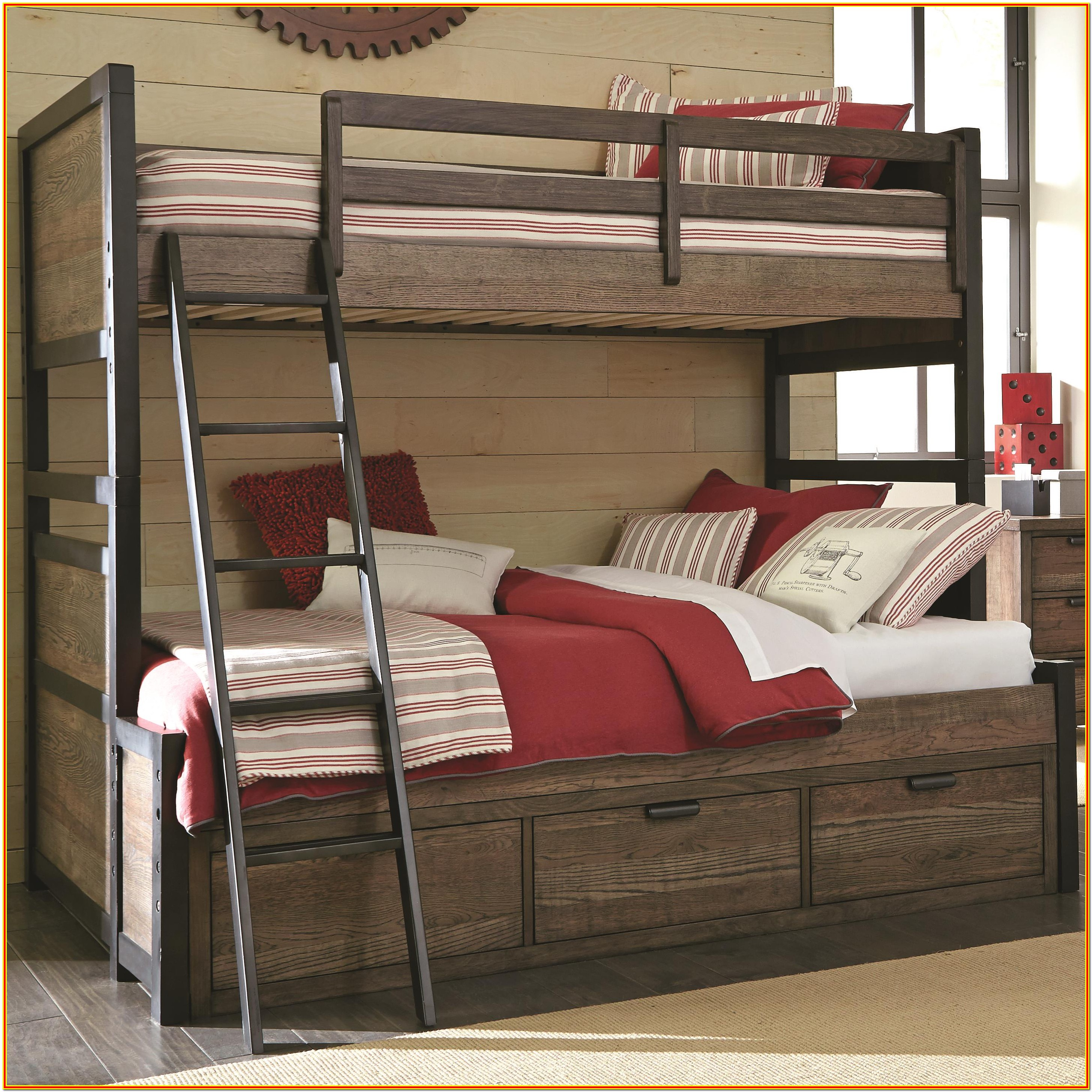 Twin Over Full Bunk Bed Plans With Drawers