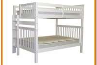 Twin Over Full Bunk Bed With End Ladder