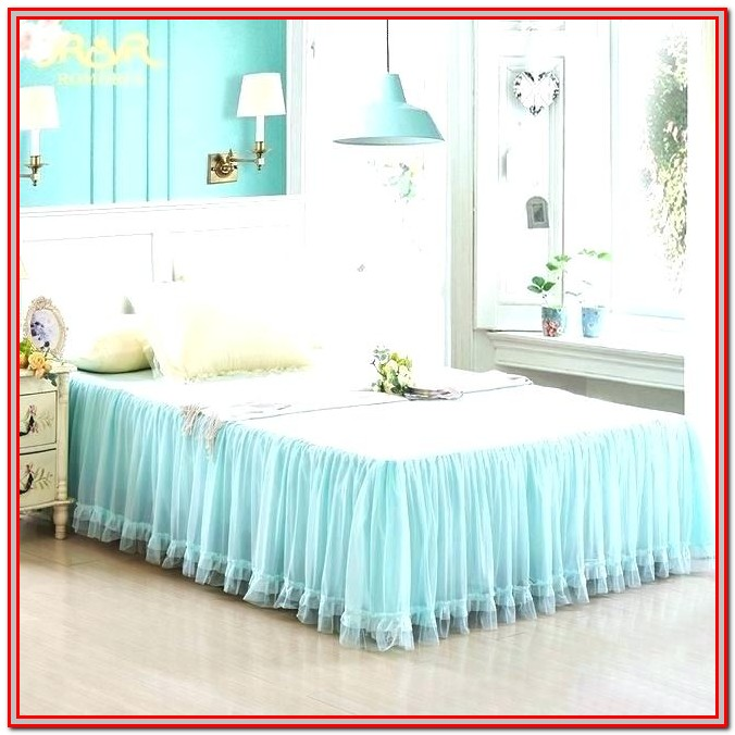 Twin Xl Bed Skirt 21 Inch Drop