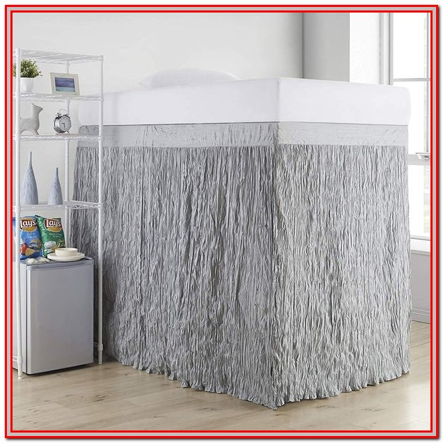 Twin Xl Bed Skirt 24 Inch Drop