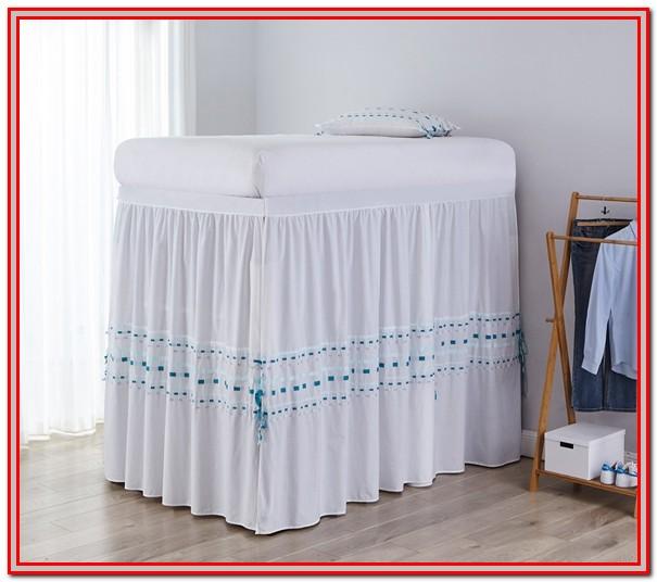 Twin Xl Bed Skirt Dorm