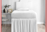 Twin Xl Bed Skirt White