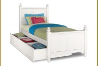 White Twin Trundle Bedroom Set